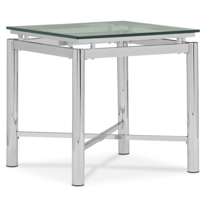 nova steve silver cocktail table end tables living room modern chrome glass contemporary