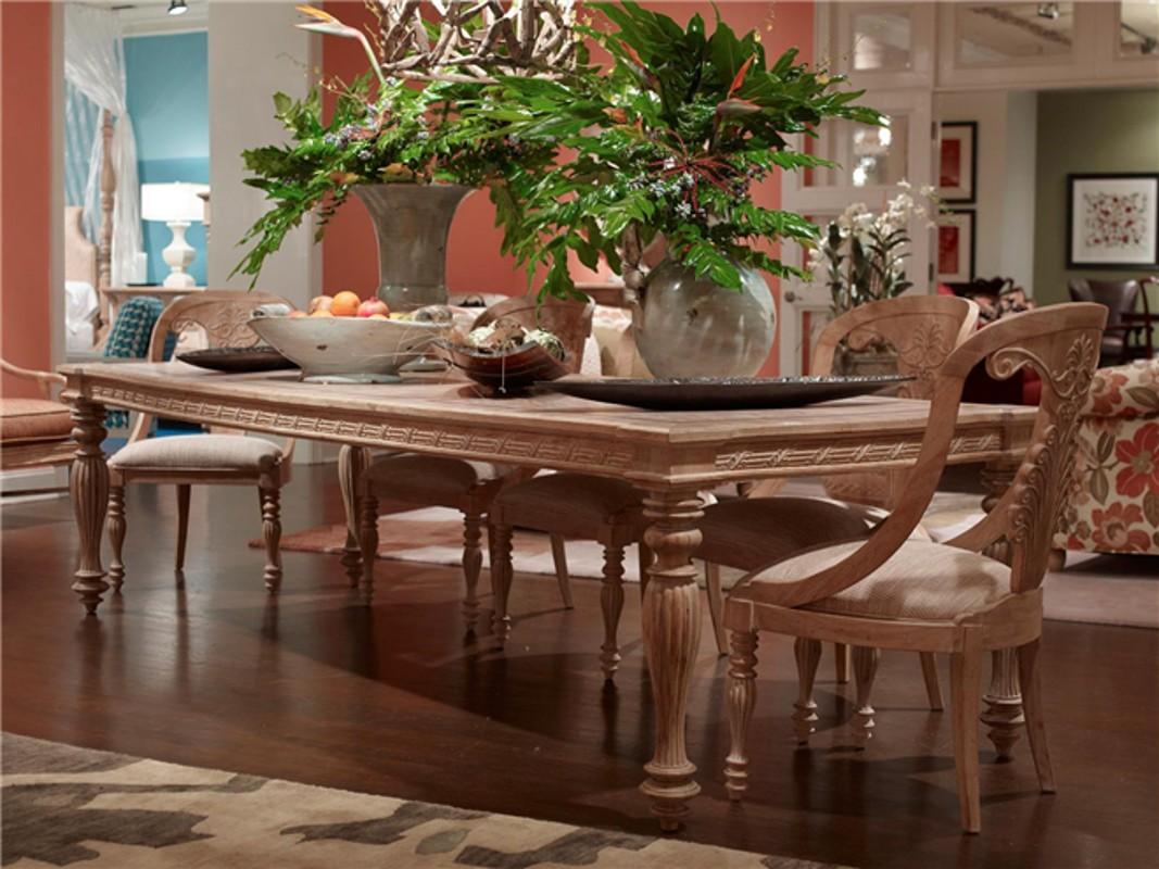 Palm island 9 piece dining set blum 39 s fine furniture co for Breakfast island set